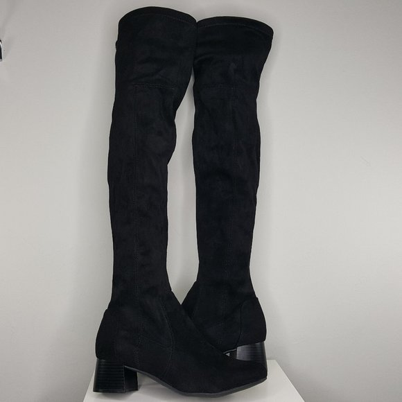 NEW Naturalizer Danton Over The Knee Heeled Boots